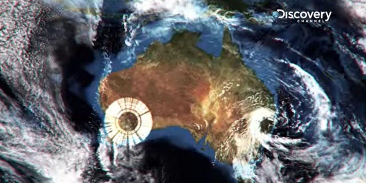 Massive Strange Rings Above Australia — GEO-ENGINEERING — RADAR CAUGHT ON THE SATELLITE VIEWER.