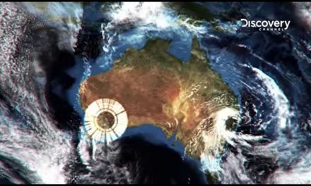 Massive Strange Rings Above Australia — GEO-ENGINEERING — RADAR CAUGHT ON THE SATELLITE VIEWER.