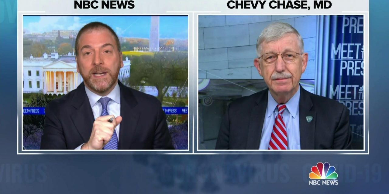 """WATCH: @NIHDirector says he wants the public to """"hit the reset button on whatever they think they knew about this vaccine that caused them to be so skeptical.""""  """"Please, people. When you look back … and you say, 'Did I do the right thing?' I hope you'll be able to say 'yes.'"""""""