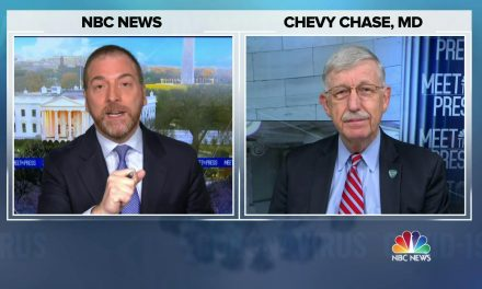 "WATCH: @NIHDirector says he wants the public to ""hit the reset button on whatever they think they knew about this vaccine that caused them to be so skeptical.""  ""Please, people. When you look back … and you say, 'Did I do the right thing?' I hope you'll be able to say 'yes.'"""