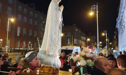EXORCISM CARRIED OUT ON IRISH PARLIAMENT