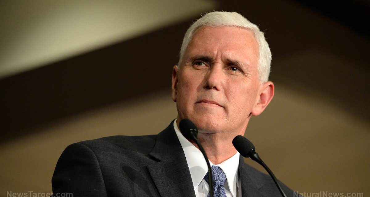 Mike Pence gets fake vaccinated on live television to promote warp speed vaccines