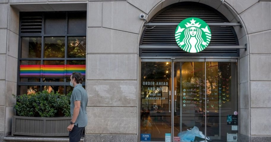 Lawsuit: Christian Starbucks Barista Says She Was Fired for Refusing To Wear LGBT 'Pride' Shirt