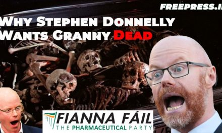 Why Stephen Donnelly Wants Your Granny Dead