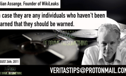Project Veritas Releases Audio of Assange Warning U.S. Government of Damaging Leak of Classified Information