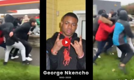 AFRICAN THUGS RAMPAGE OVER THE DEATH OF GEORGE NKENCHO IN WEST DUBLIN (COMPILATION)