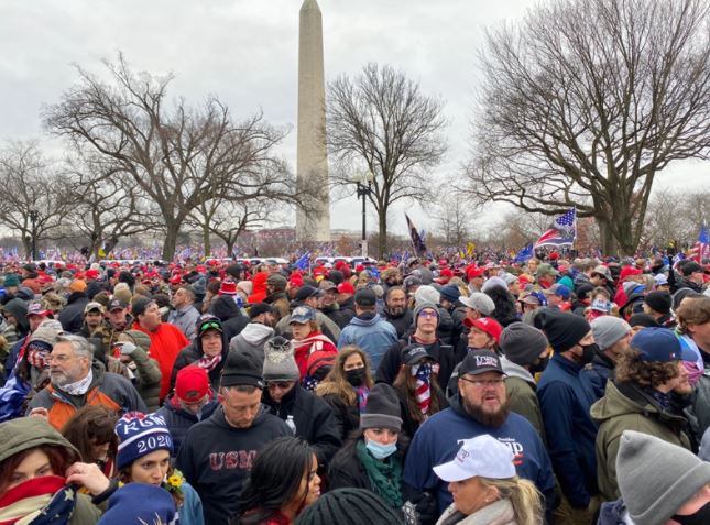 Videos: Trump Supporters Breach Security at Capitol Building, Clash With Riot Police