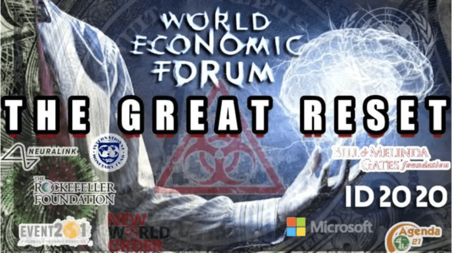 The 'Great Reset' Is Not Great And Not New – Neo-Slavery World Order