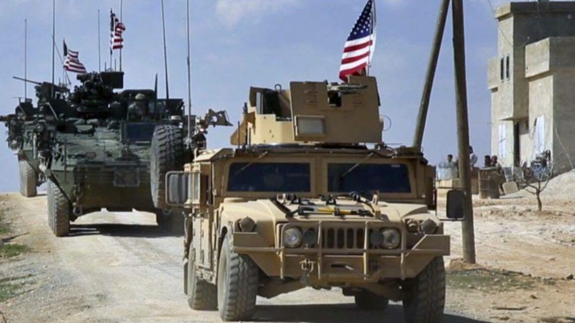 Large US military convoy enters northeast Syria after Damascus demands immediate withdrawal