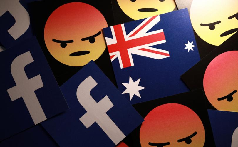In fight over new law, Facebook blocks all Australian news websites