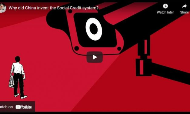 Why did China invent the Social Credit system?