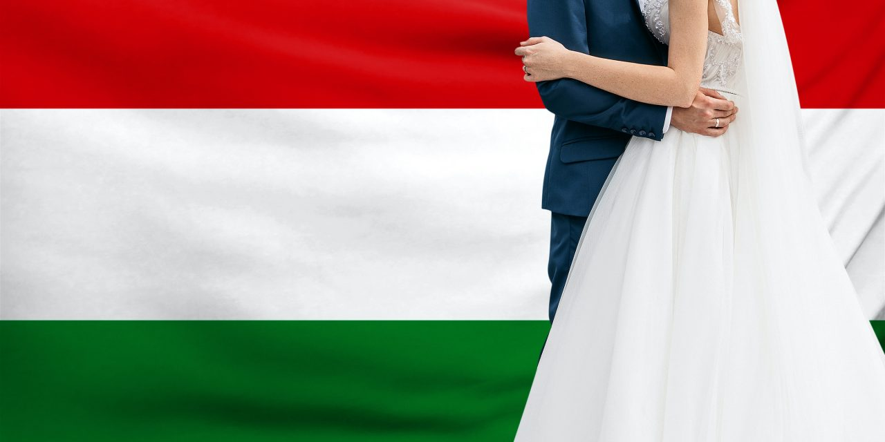 Family-friendly policies have almost doubled the rate of marriages in Hungary
