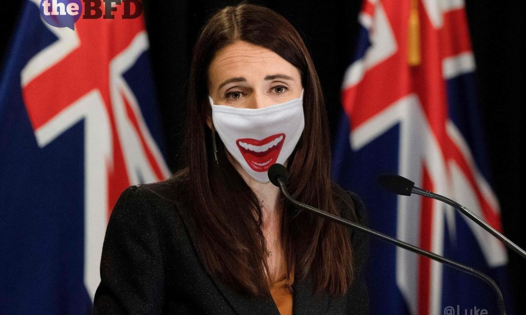 "NEW ZEALAND PM ARDERN SAID SHE WANTS TO MAKE FACE MASKS ""PART OF NORMAL LIFE."""