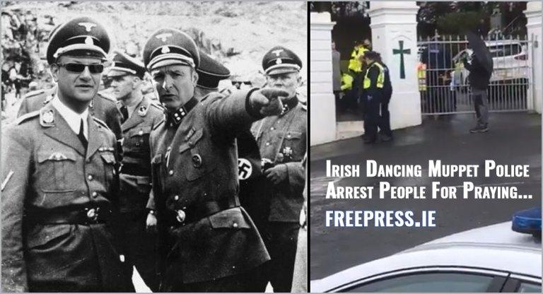 Irish Dancing Muppet Police Arrest People For Praying…