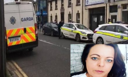 As violent criminals walk the streets – Christine McTiernan has been arrested in Balbriggan for opening her business for a second day