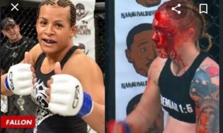 Transgender Fighter Who Broke Woman's Skull in MMA Ring Has Now Been Called the 'Bravest Athlete in History'