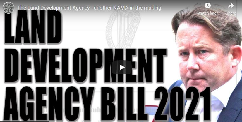 The Land Development Agency – another NAMA in the making