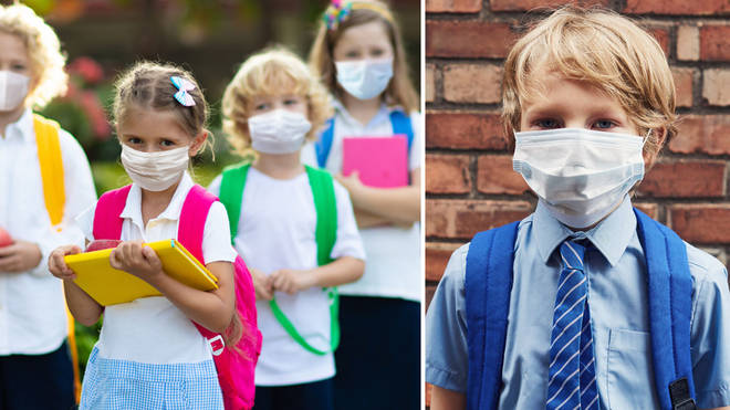 NPHET are now seriously considering compulsory masks for primary school children