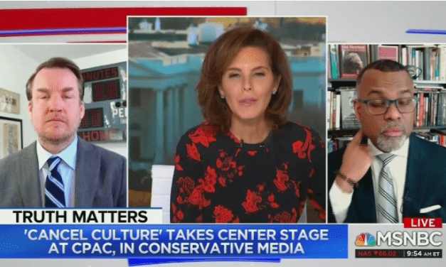 "MSNBC: White People Who Oppose Cancel Culture are ""Insecure"" Racists"