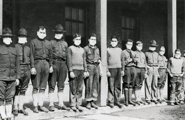 The 1918 Rockefeller-US Army Worldwide Pandemic