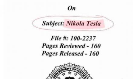 Freedom of information Release on nikola tesla