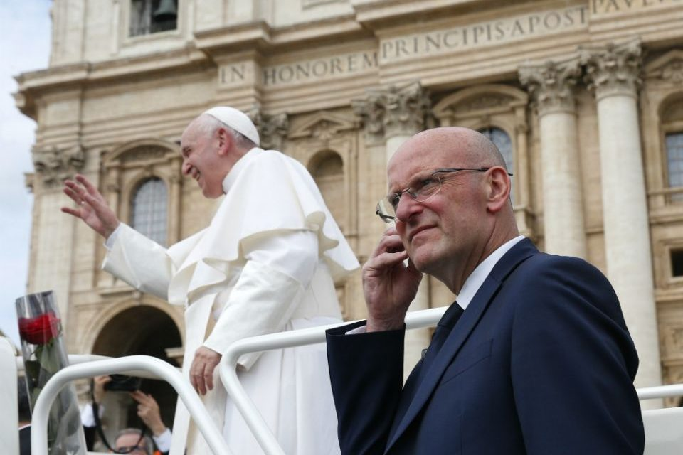 Vatican police chief resigns over leaks about raid on Secretariat of State