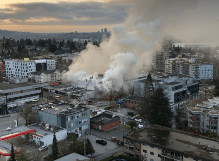 Alleged arsonist arrested after 3 fires at Masonic lodges in Metro Vancouver area