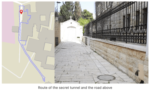 What Was The Vatican Searching For When They Built Secret Tunnel Under Jerusalem Church?
