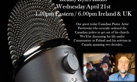 REALITY BYTES RADIO LIVE WITH GUEST PASTOR ARTUR PAWLOWSKI