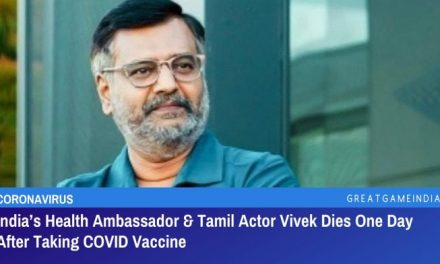 India's Health Ambassador & Tamil Actor Vivek Dies One Day After Taking COVID Vaccine