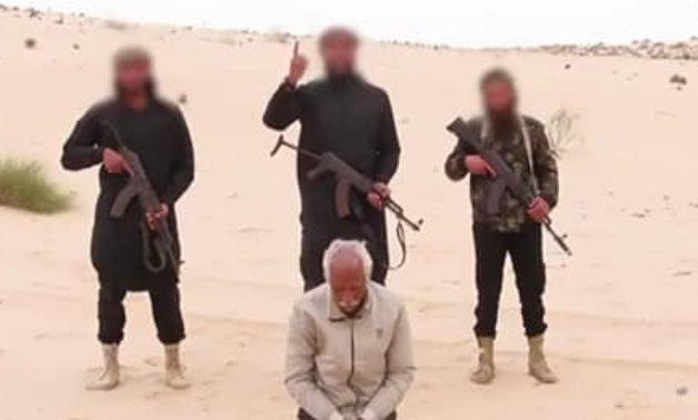 ISIS EXECUTES COPTIC CHRISTIAN