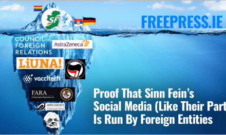 Proof That Sinn Fein's Social Media (Like Their Party) Is Run By Foreign Entities…