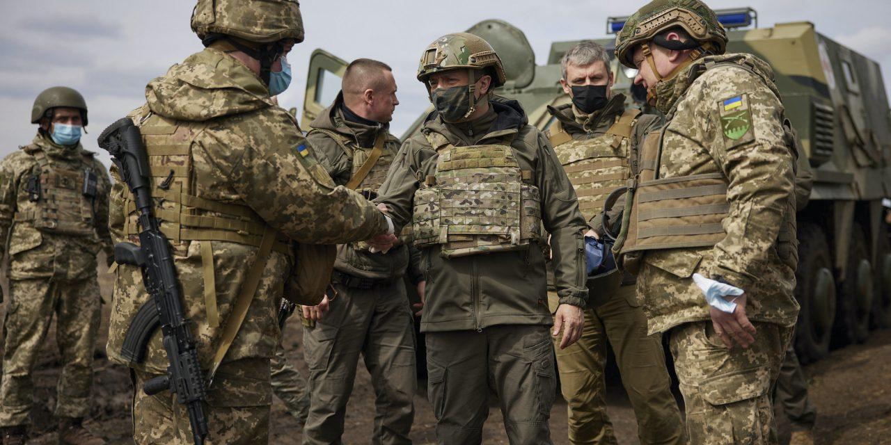 Russian troops amass on Ukraine's eastern border, but can Zelenskiy secure NATO membership?