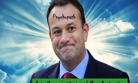 Varadkar: Get Shot by ASTRAZENECA or else! He just can't hide his psychopathic intent