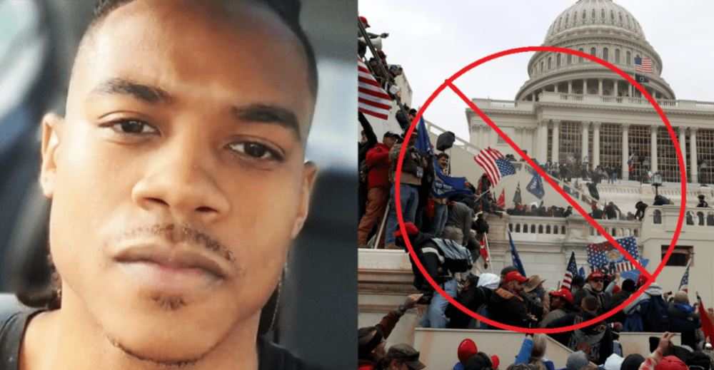 Leftists Assume Capitol Attacker Is White Trump Supporter – Turns Out to Be Black Supremacist