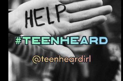 TeenHeard – All A teen wants is to be heard – Will we listen when they talk?
