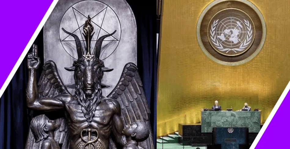 LUCIFER AND THE UNITED NATIONS / HUGO TALKS #LOCKDOWN