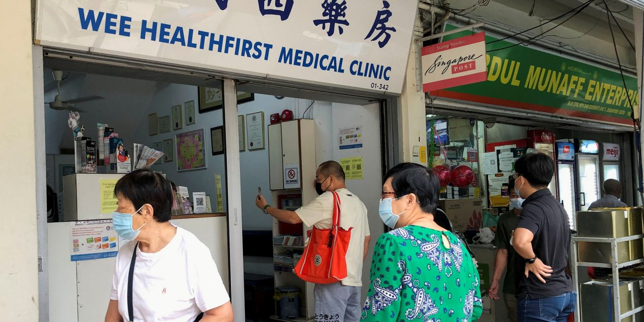Vaccinated people account for 75% of coronavirus infections in Singapore