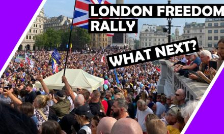 hUGO TALKS ON LONDON FREEDOM RALLY AND WHAT NEXT?