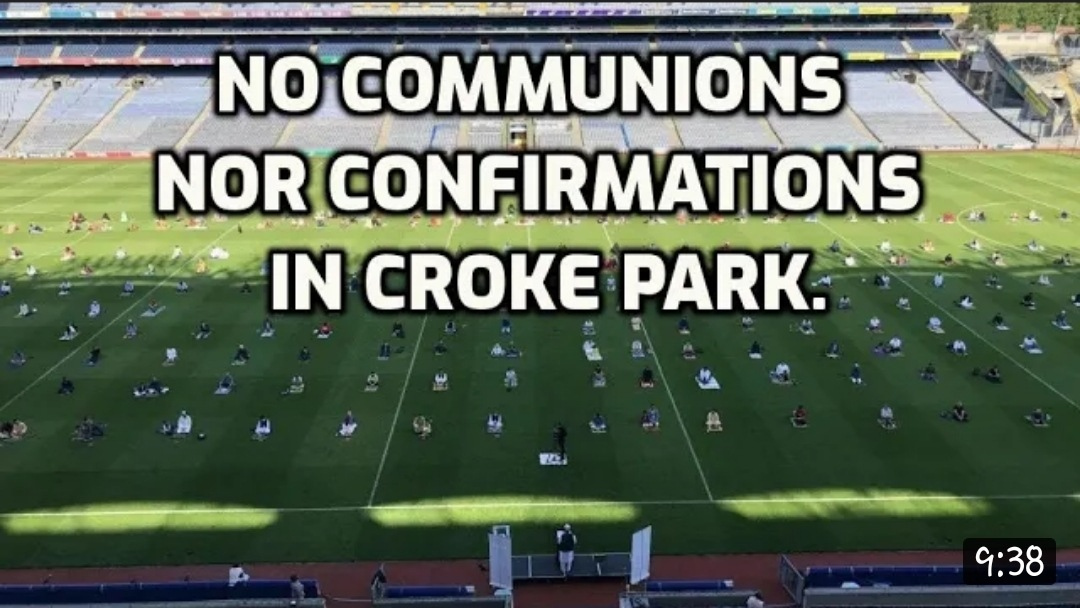 Croke Park Muslim Ceremony – Ree News Televise This In Your Face – NINJA KNIGHT