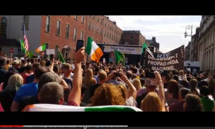 Dublin Protest 24/07/21 : Count Richard  Von Coudenhove Kalergi