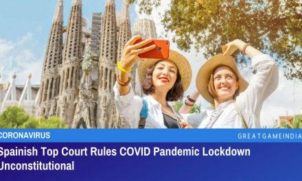 Spanish Top Court Rules COVID Pandemic Lockdown Unconstitutional