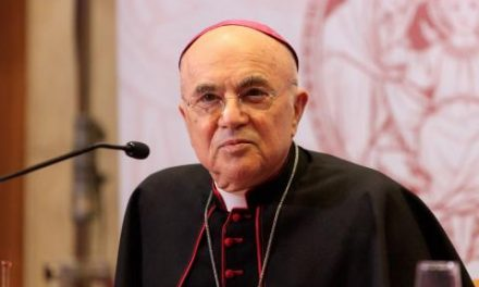 Archbishop Viganò: Vaccines made with fetal tissue are a 'human sacrifice of innocent victims offered to Satan'