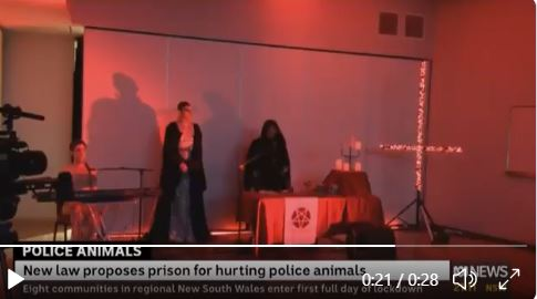 Australia: ABC TV Newscast Interrupted by Clip of Satan Worshipers