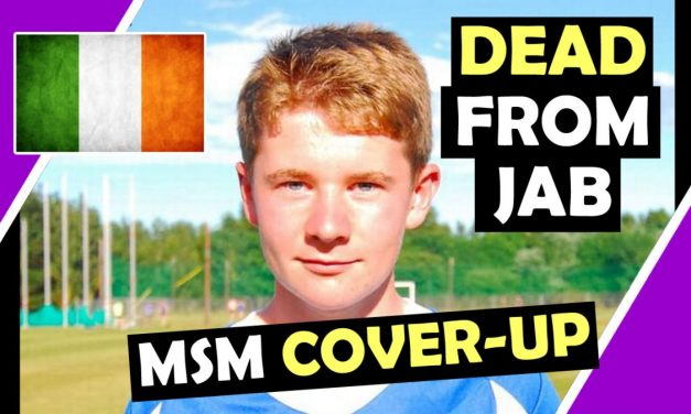 Roy Butler IRISH Footballer, 23 YEARS OF AGE, DEAD From janssen vaccine, MAIN STREAM MEDIA COVER UP