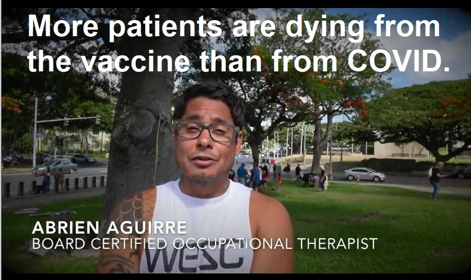 Board Certified Occupational Therapist Whistleblower: More Patients are Dying from the Vaccine than from COVID