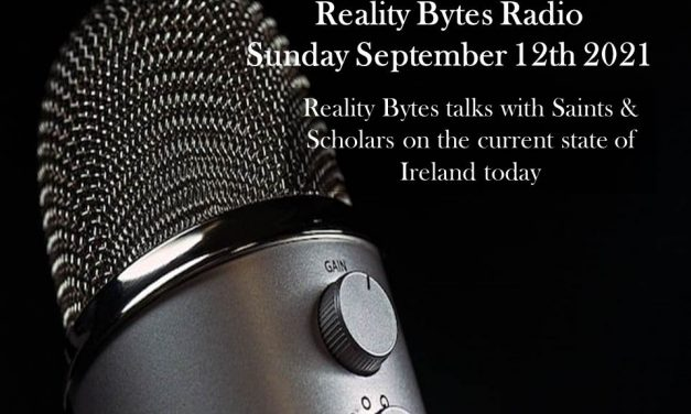 Reality Bytes Radio with guests from Saints & Scholars broadcast earlier today….