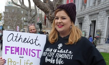 """Liberal Atheist Condemns Abortion: """"The Killing of the Unborn is a Violation of Nonviolence"""""""