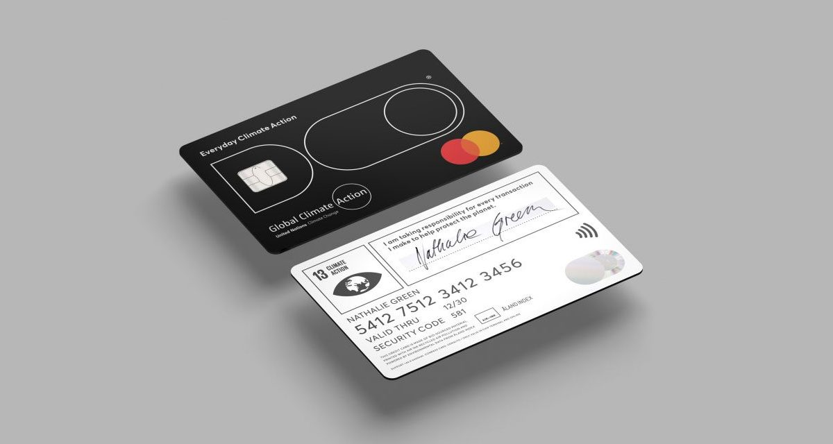 Transaction denied': Get ready for credit card that cuts off spending once you hit your CO2 max