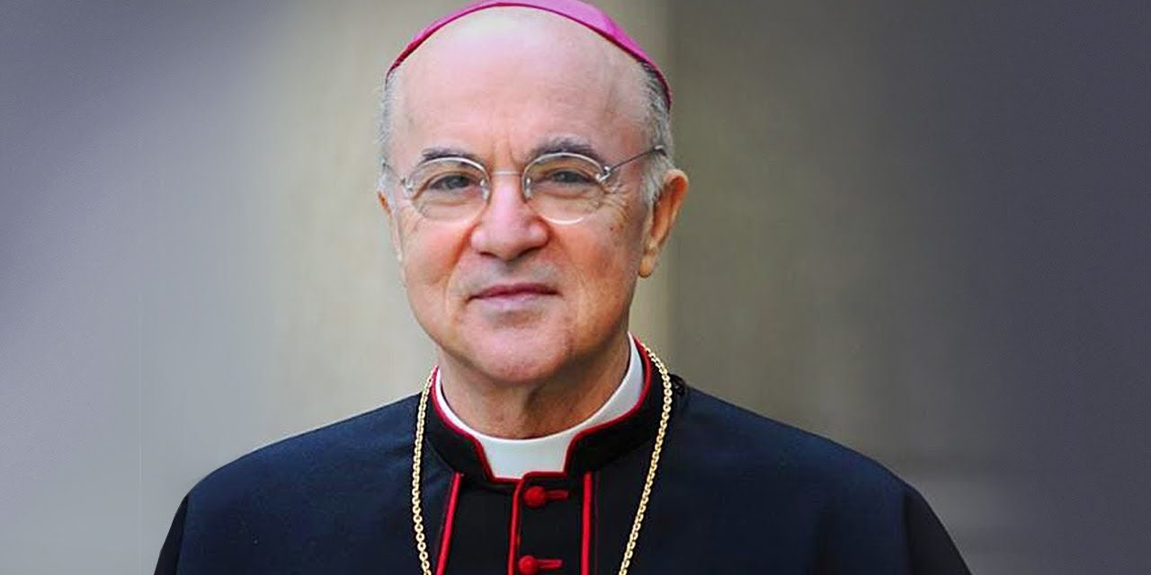 THE WORLD IS IN A SPIRITUAL WAR & THE VAXX IS A GENE ALTERING BIOWEAPON – ARCHBISHIOP VIGANO
